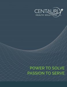 Centauri Brochure Cover