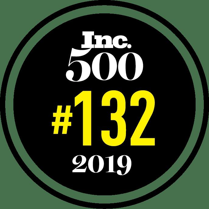 2019 Inc 500 ranking #132