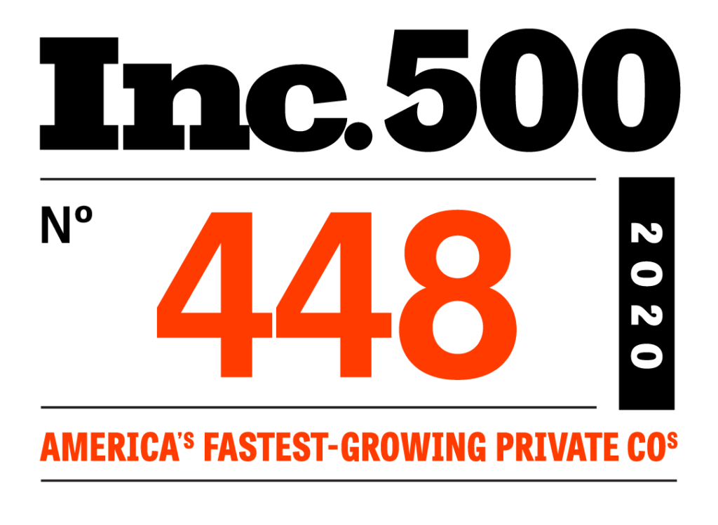 2020 Inc 500 ranking #448